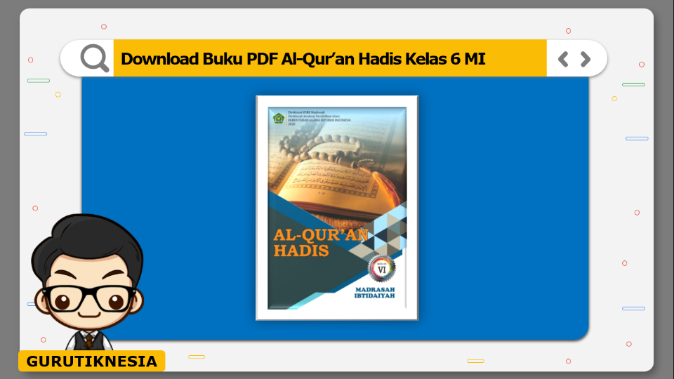 download buku pdf al-quran hadis kelas 6 mi