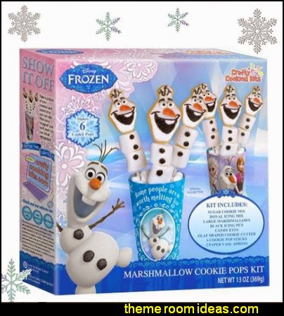 Disney Frozen Olaf Marshmallow Cookie Pops Kit