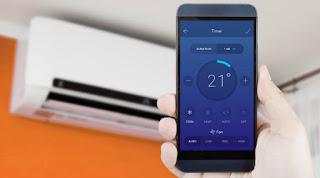 Controlar el aire acondicionado desde el móvil
