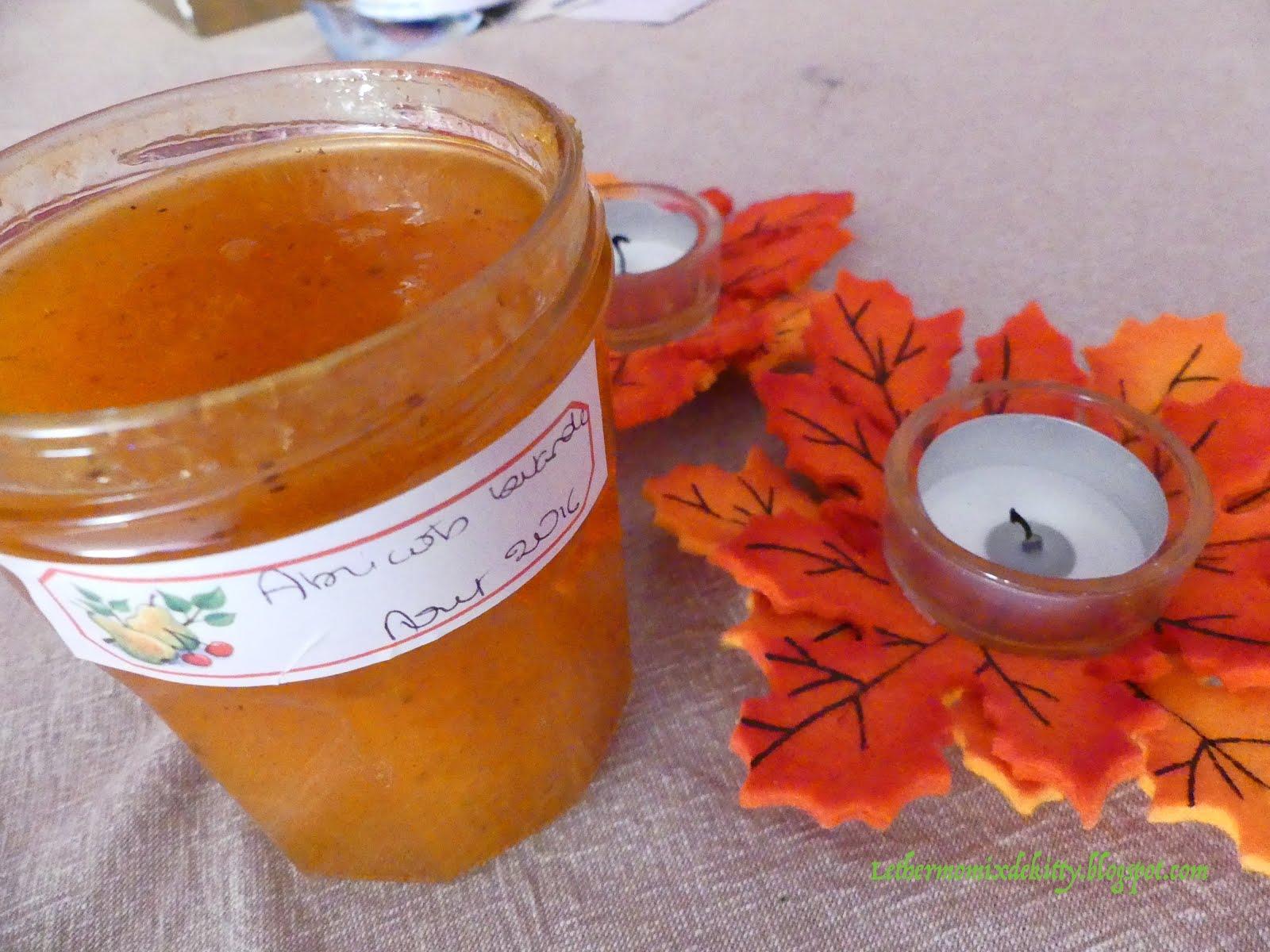 confiture abricot lavande thermomix
