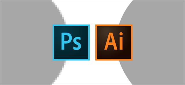 شعار Photoshop و Illustrator