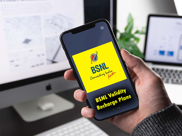 Latest BSNL Validity Recharge Plans to extend plan validity with unlimited calls, data and SMS benefits