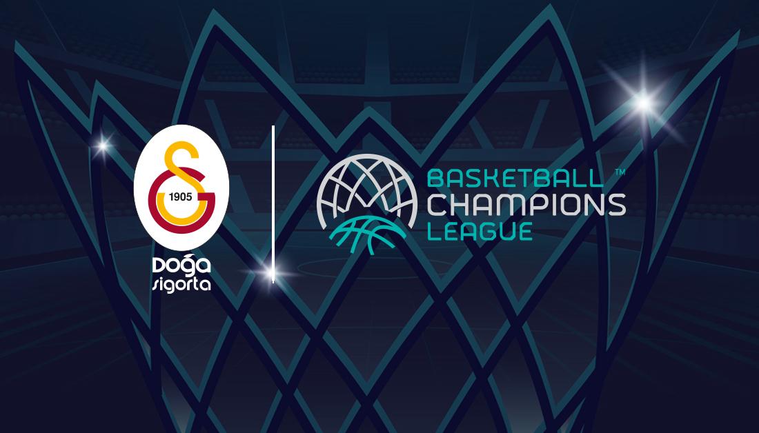 Galatasaray, FIBA Basketbol Şampiyonlar Ligi'nde mücadele edecek!