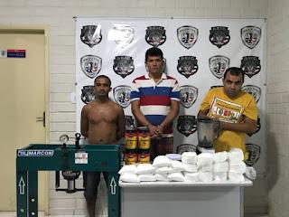 Polícia desmonta laboratório de refino de cocaína no Anil, em São Luís
