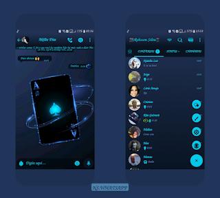 Card Dark Theme For YOWhatsApp & GB WhatsApp By Robson