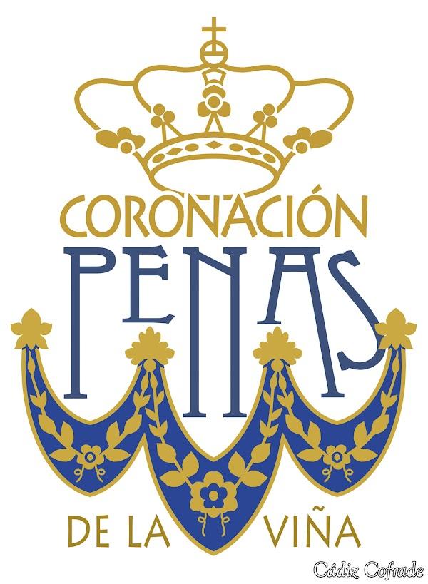 Logotipo para la Coronación de la Virgen de las Penas de Cádiz