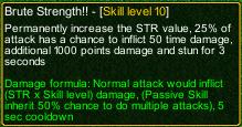 naruto castle defense 6.4 Brute Strength!! detail