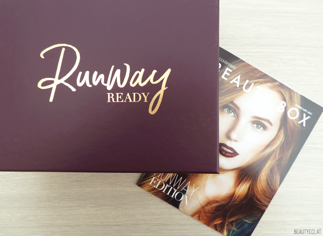 revue avis test Lookfantastic Beauty box fevrier 2017 runway ready