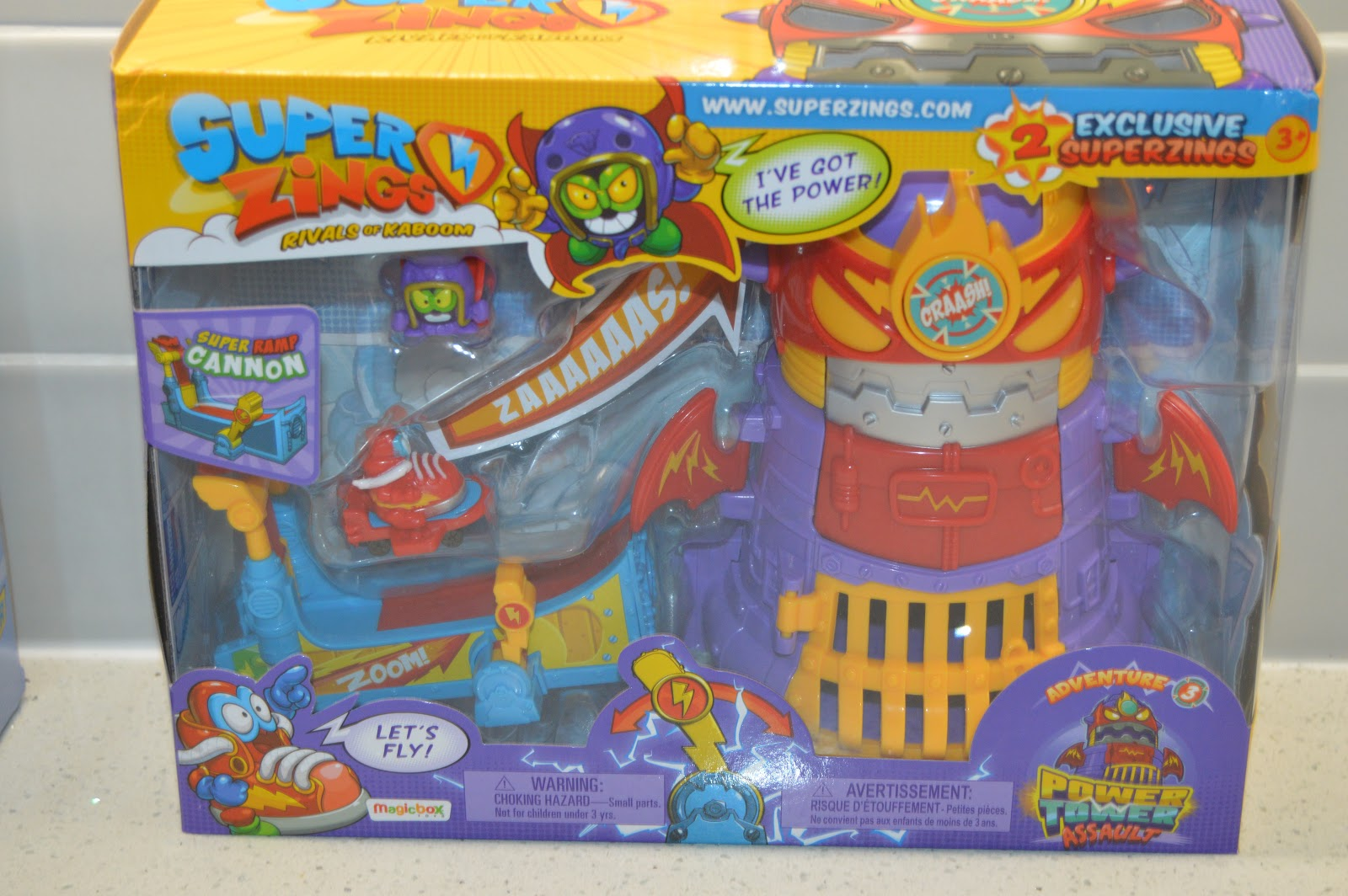 SUPERZINGS - Power Tower Assault Adventure 3 toy