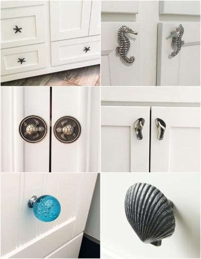 Coastal Nautical Knobs Pulls To Dress Up Drawers Cabinet Doors Coastal Decor Ideas Interior Design Diy Shopping