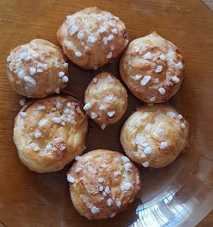 Voici donc la recette des chouquettes du blog les recettes de Cindy