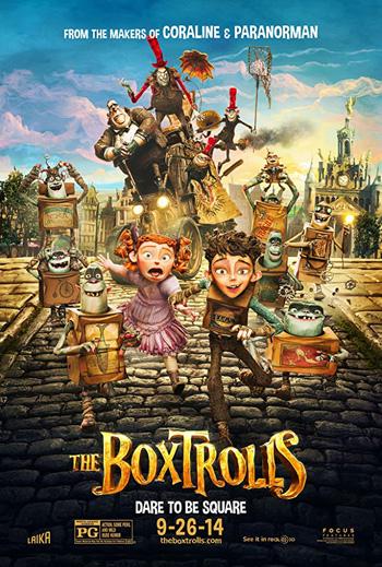The Boxtrolls 2014 Dual Audio ORG Hindi 720p BluRay 800MB poster