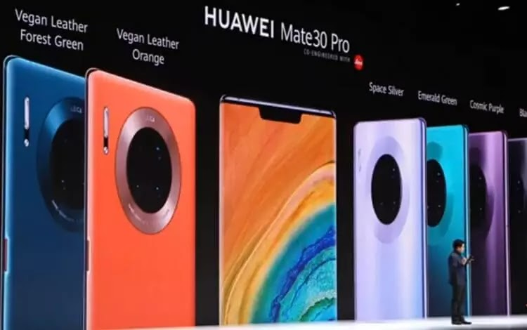 Huawei Launches Mate30 Pro
