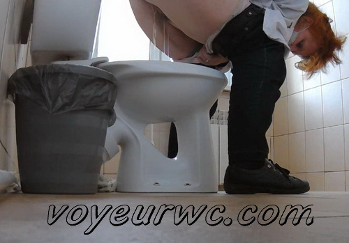 In the women's toilet in hospital is a hidden camera, which established there one of the doctors (Clinic Toilet)