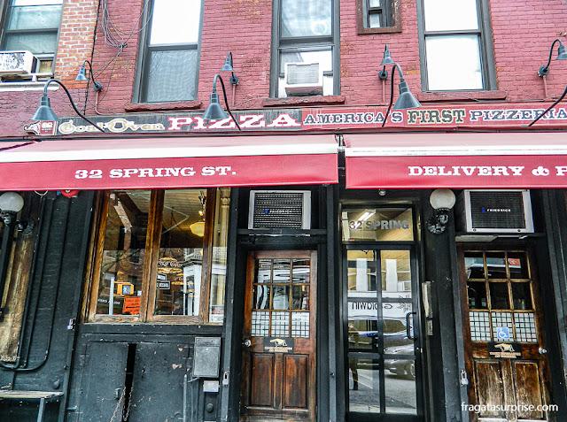 Pizzaria Lombardi's, Nova York