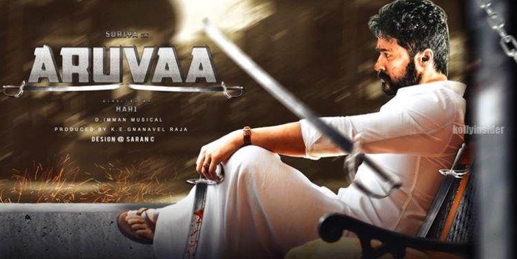 Suriya - Hari's 'Aruvaa'