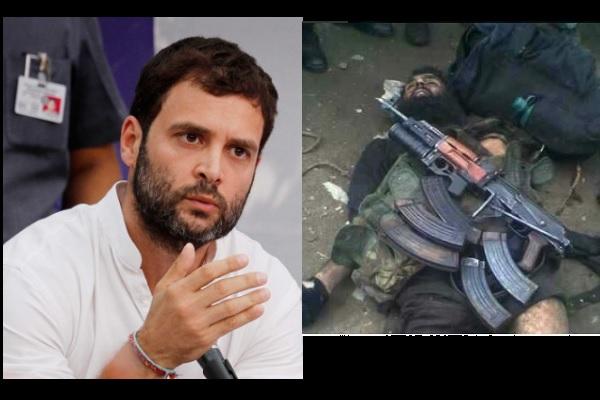 राहुल बोले मोदी करवा रहे हैं कश्मीर में हिंसा तो लोग बोले नहीं गया राहुल का बचपना