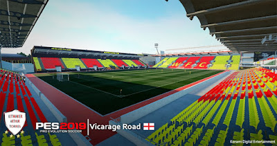PES 2019 Stadium Vicarage Road by Arthur Torres