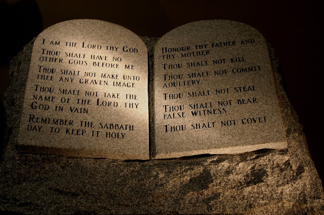 The Ten Commandments - Public Domain