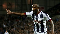 Saido Berahino might yet be keeping his black and white striped shirt if Newcastle buy him