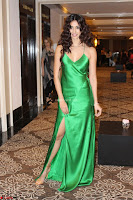 Disha Patani in Beautiful Green Gown at her App Launch 032.JPG