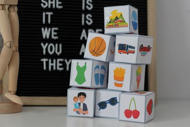Activity cubes 2 - wakacje przedszkolaków