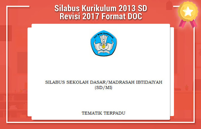 Silabus Kurikulum 2013 SD Revisi