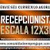 RECEPCIONISTA COM DISPONIBILIDADE DE TRABALHAR EM ESCALA 12x36