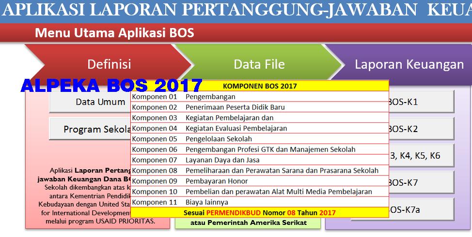 Alpeka Bos Tahun 2020 Aplikasi Pertanggung Jawaban Bos Sesuai Permendikbud Sch Paperplane