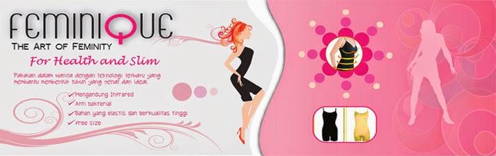 Feminique Merk Pakaian Dalam Pelangsing Badan Terbaik | Langsing Tanpa Obat