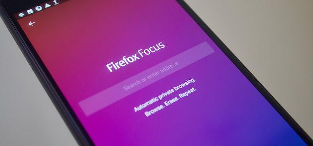 تطبيق Firefox Focus