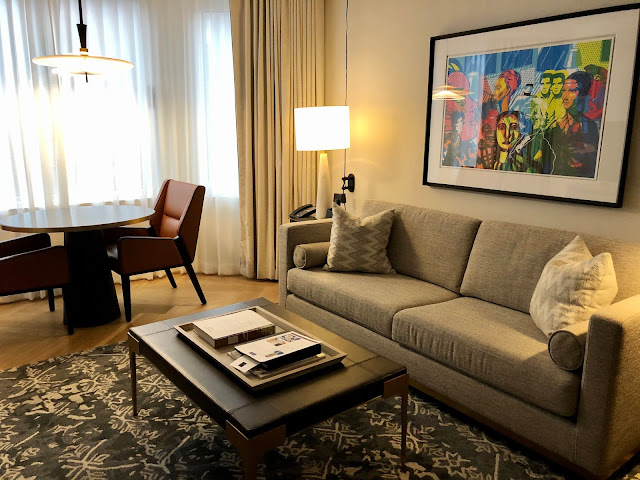 Steps from Central Park, Rockefeller Center, MoMA, and the Theater District the Conrad Midtown offers Tremendous Value for and Boutique Suite New York City Experience.