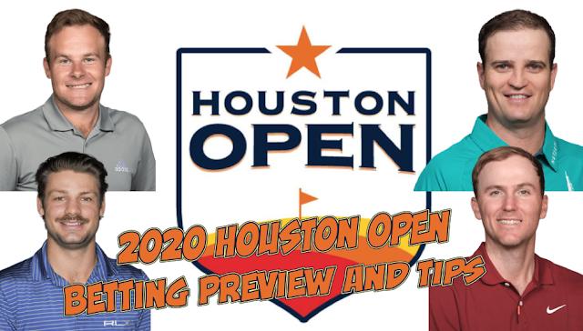 Houston Open Golf Betting Draft Kings