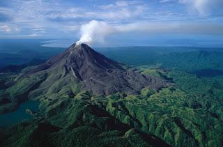 Bagana volcano in Papua New Guinea