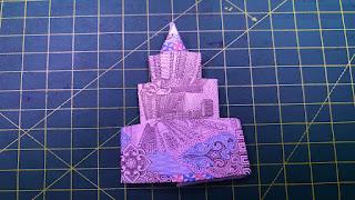 Origami money gấp ngôi nhà bằng tiền giấy + money origami house