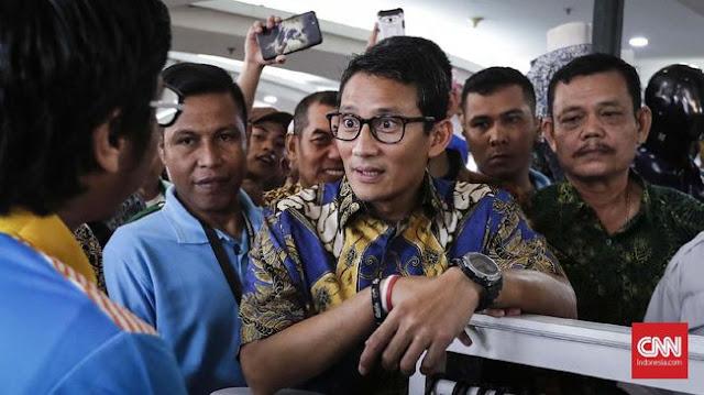 Soal Hoaks Ratna Dipukuli, Sandiaga Akan Lapor Polisi