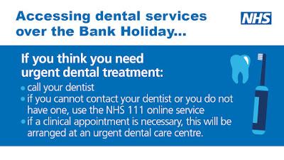 Bank holiday dentist