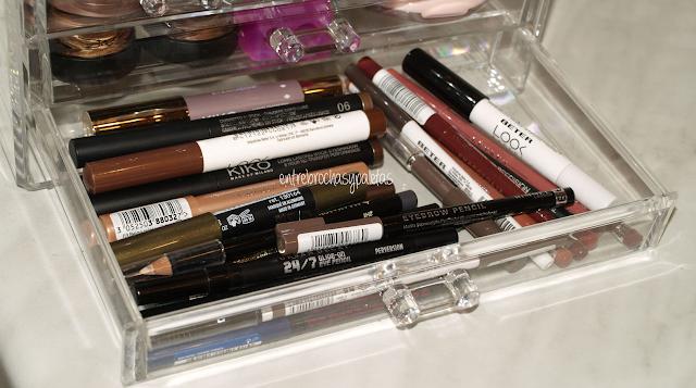 organizador maquillaje acrilico tmart
