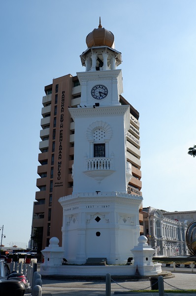 The Victoria Memorial Clock Tower