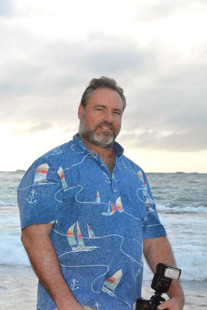 Blue Aloha Shirt