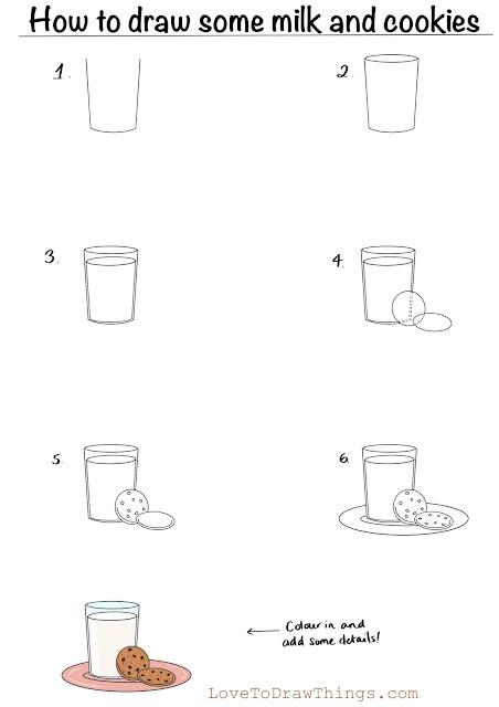 Easy drawing tutorials. Beginners step by step drawing. East things to draw