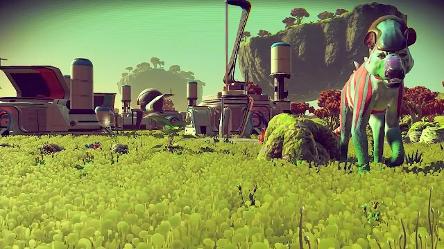 No Man's Sky, in my opinion, is like a massive universe