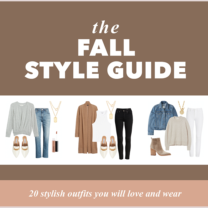 fall style guide - stylish fall outfits