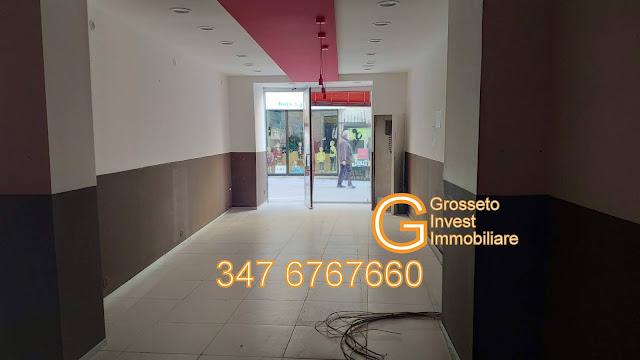 Grosseto Invest Agenzia Immobiliare - Via Ricasoli negozio in affitto