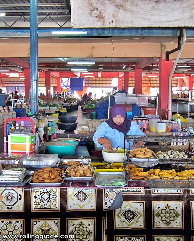 markets in Limbang, Sarawak