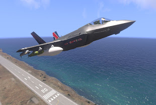 Arma3用アメリカ空軍MODのF-35A