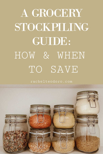 grocery stockpiling guide, how and when to save