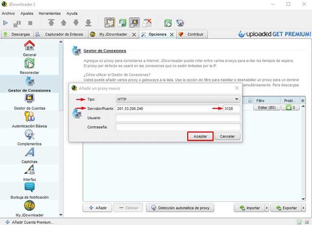 descargar de mega sin limites jdownloader 2