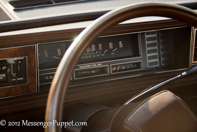 Oldsmobile Cutlass dash