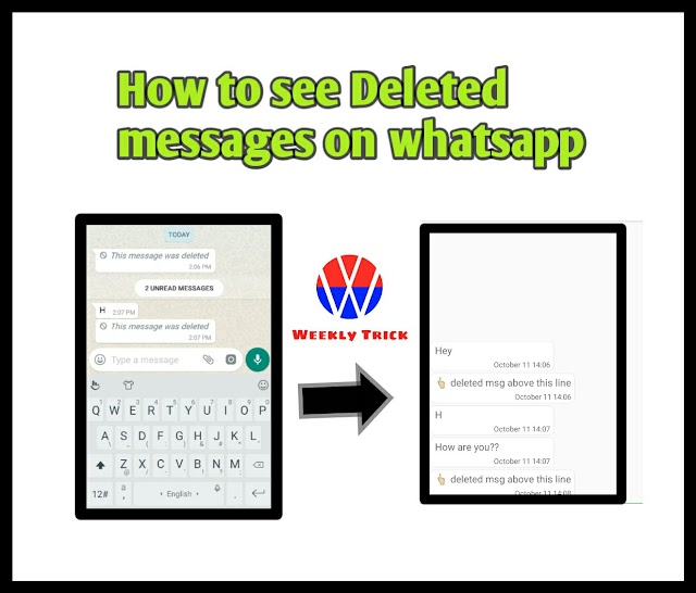 How to See Deleted Messages on Whatsapp in Android